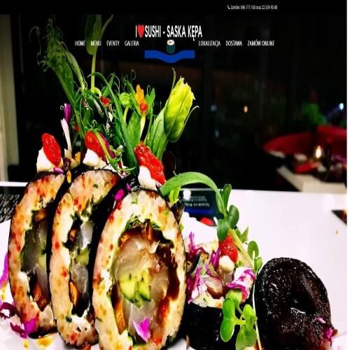 Sushi saska kępa w Warszawie