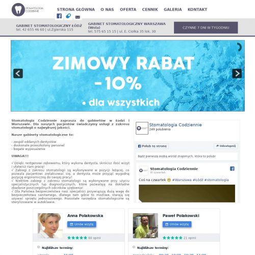 Warszawa - dentysta dla dzieci wola