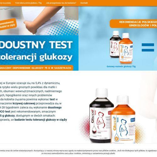 Badanie glukozy w ciąży