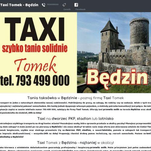 Będzin - taksówka będzin 24h