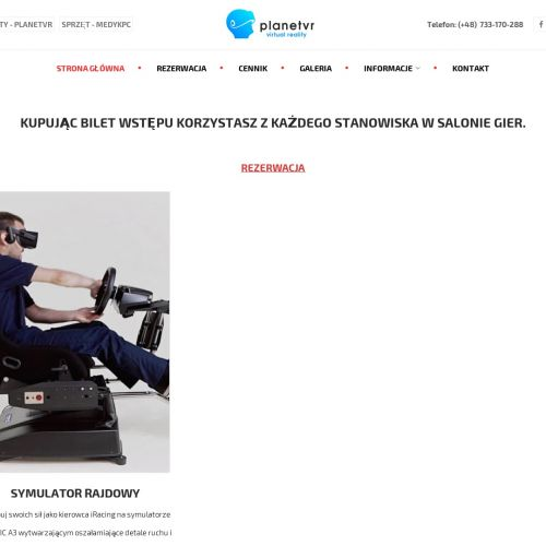 Symulatory dla dzieci - Poznań