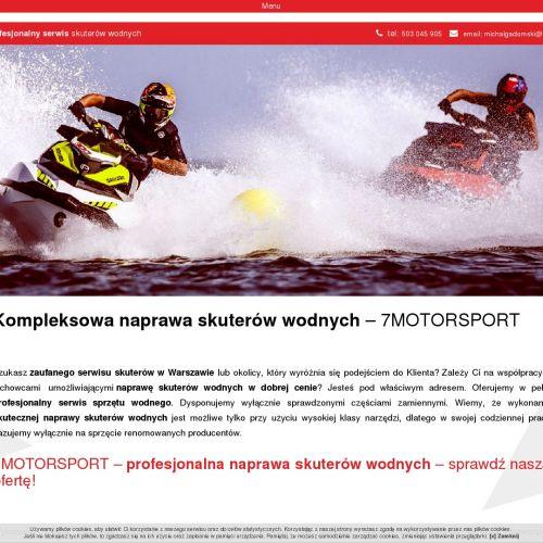 Toruń - serwis skuterów wodnych cena