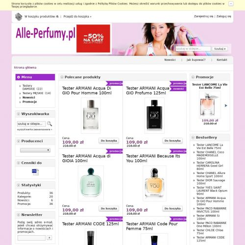 Poznań - perfumy versace