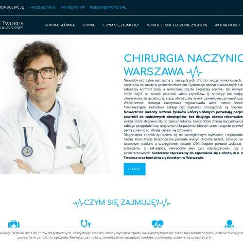 Warszawa - leczenie żylaków nowoczesne metody