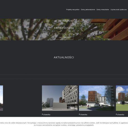 Warszawa - całościowy projekt domu