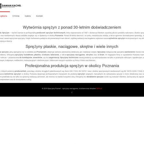 Poznań - sprężyny producent