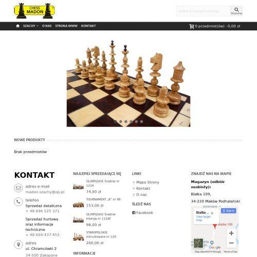 Stoły szachowe