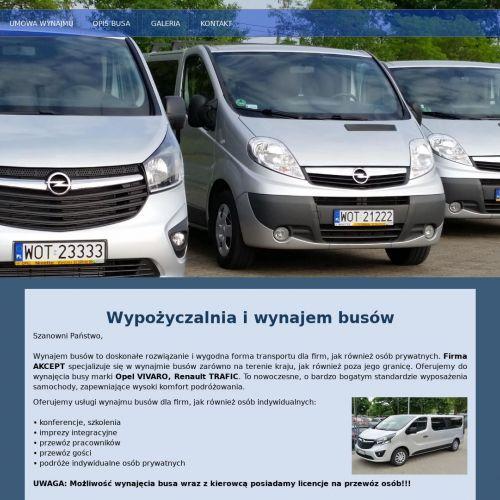 Transport na szkolenia - Warszawa