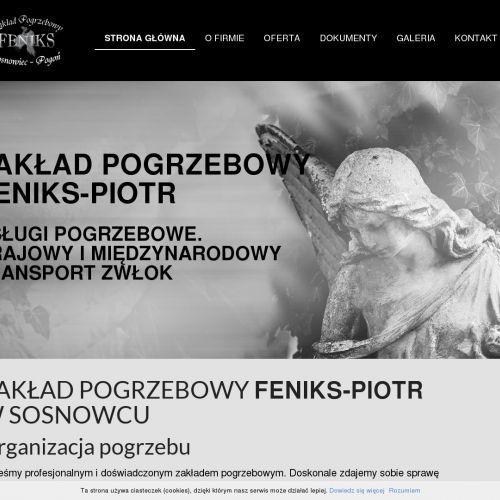 Zakład pogrzebowy - Sosnowiec
