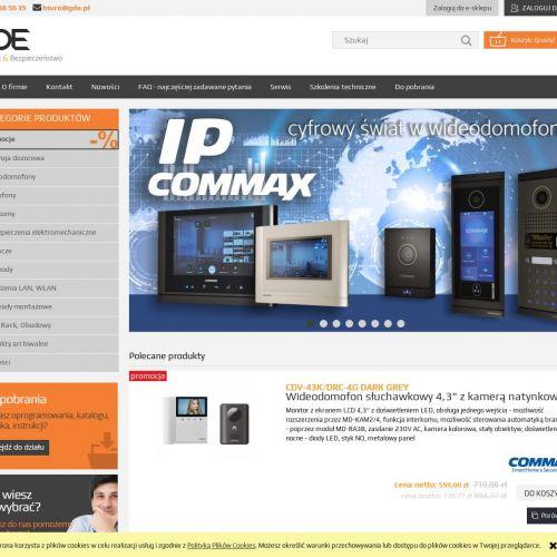 Commax wideodomofony