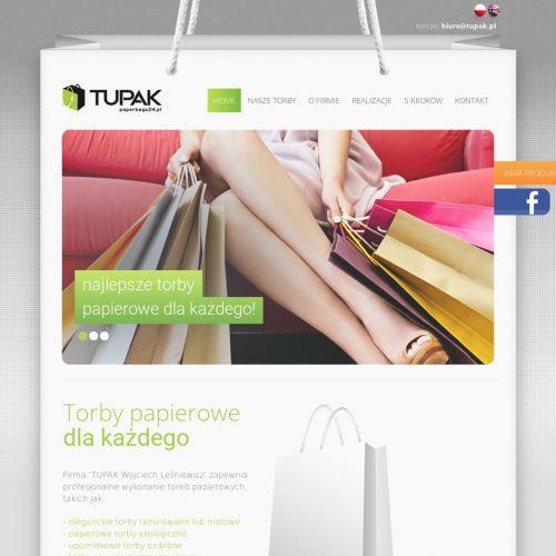 Poznań - torby papierowe