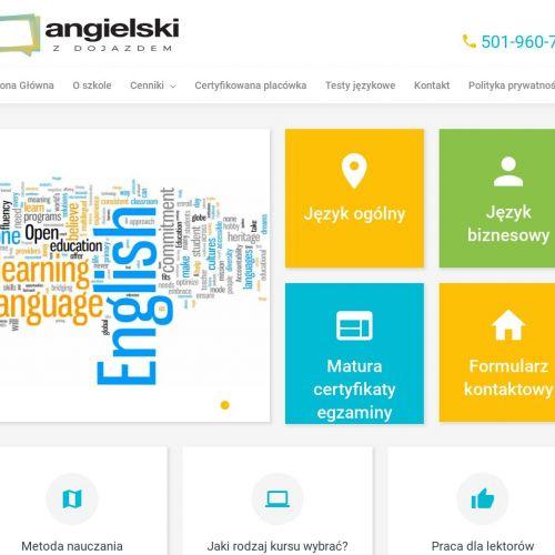 Warszawa - angielski przez internet skype