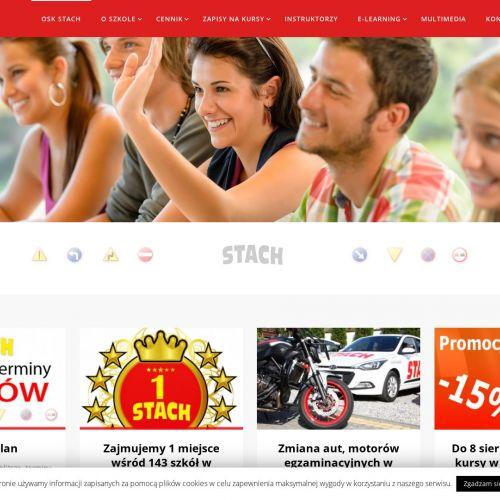 Kraków - prawo jazdy kurs internetowy