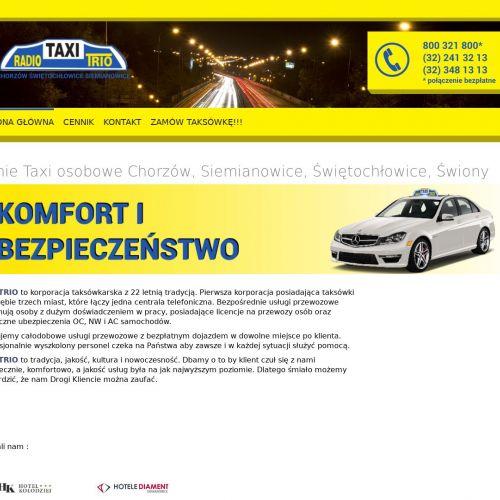 Taxi osobowe Chorzów