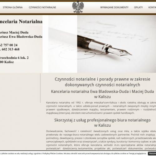 Akty poświadczenia dziedziczenia w Kaliszu