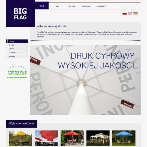 Parasole ogrodowe duże producent - Gdańsk