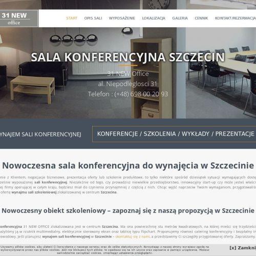 Wynajem sali konferencyjnej w Szczecinie
