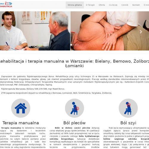Warszawa - osteopata bemowo