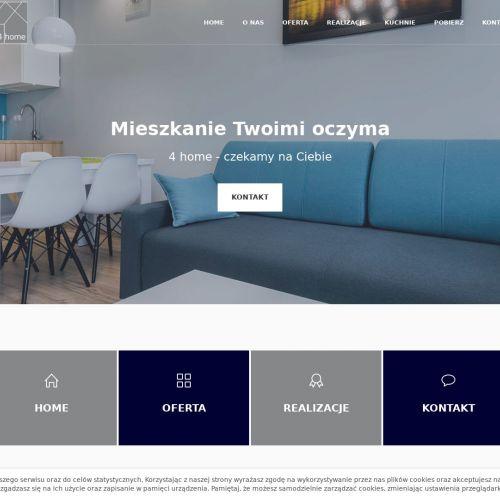 Aranżacja mieszkania dla młodych w Gdańsku
