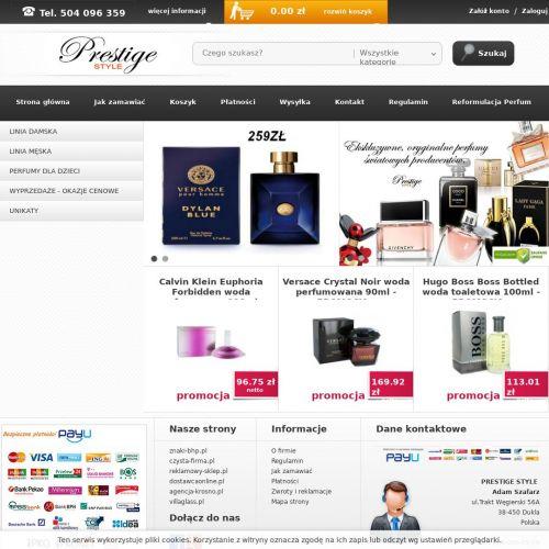 Perfumy męskie sklep internetowy