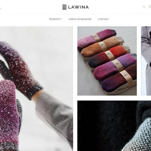 Kolorowe dziecięce rękawiczki wełniane