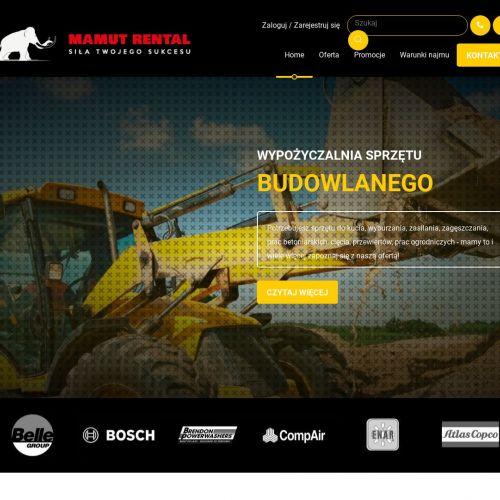 Dąbrowa Górnicza - wynajem maszyn budowlanych śląskie