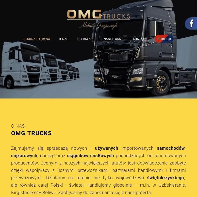 Man ciężarówki używane małopolskie