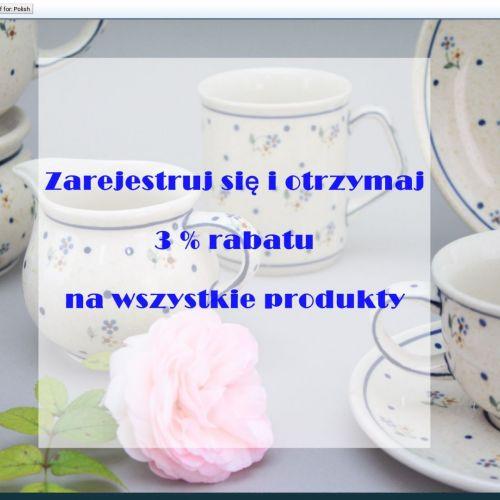 Porcelana kristoff filiżanki w Bolesławcu