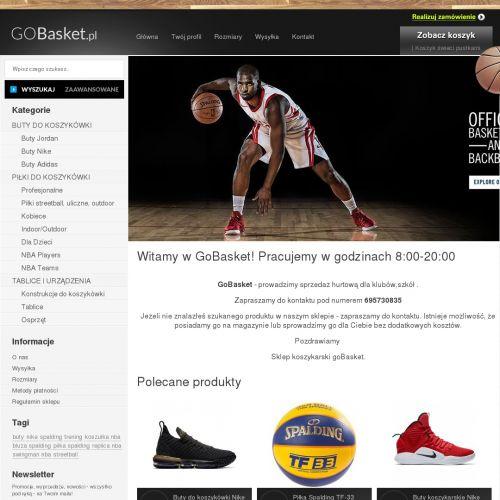 Buty dla koszykarzy nike