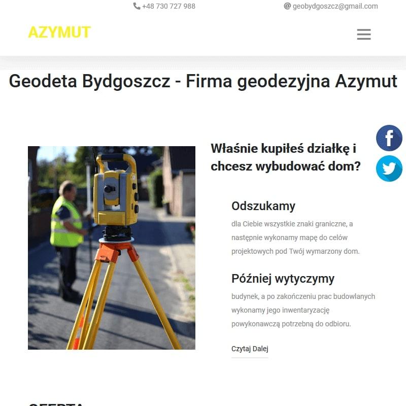 Geodezja dąbrowa chełmińska