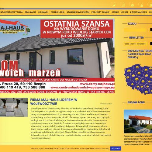 Domy energooszczędne w Świebodzinie
