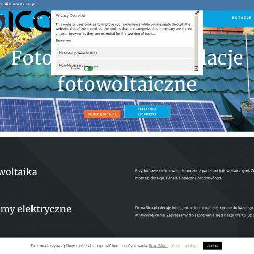 Panele fotowoltaiczne dofinansowanie śląskie w Cieszynie