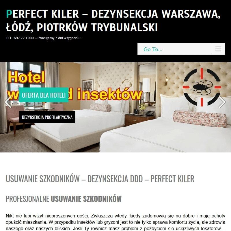 Dezynsekcja - Warszawa