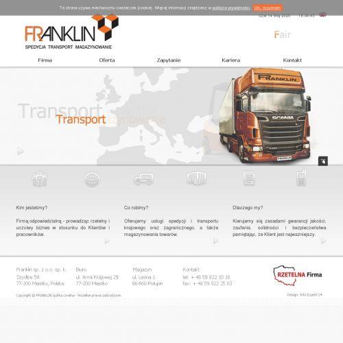 Zielona Góra - transport paletowy międzynarodowy