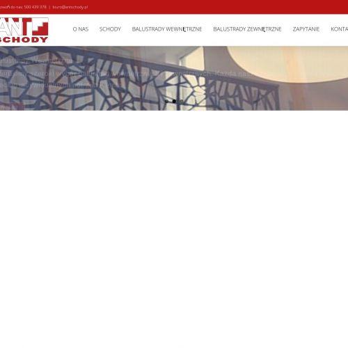 Producent balustrad Warszawa