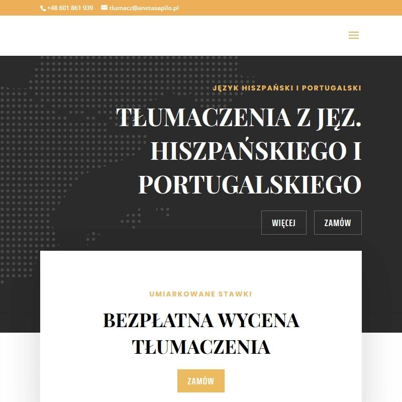 Tłumacz języka hiszpańskiego w Warszawie
