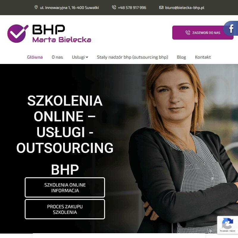 Augustów - internetowy kurs bhp