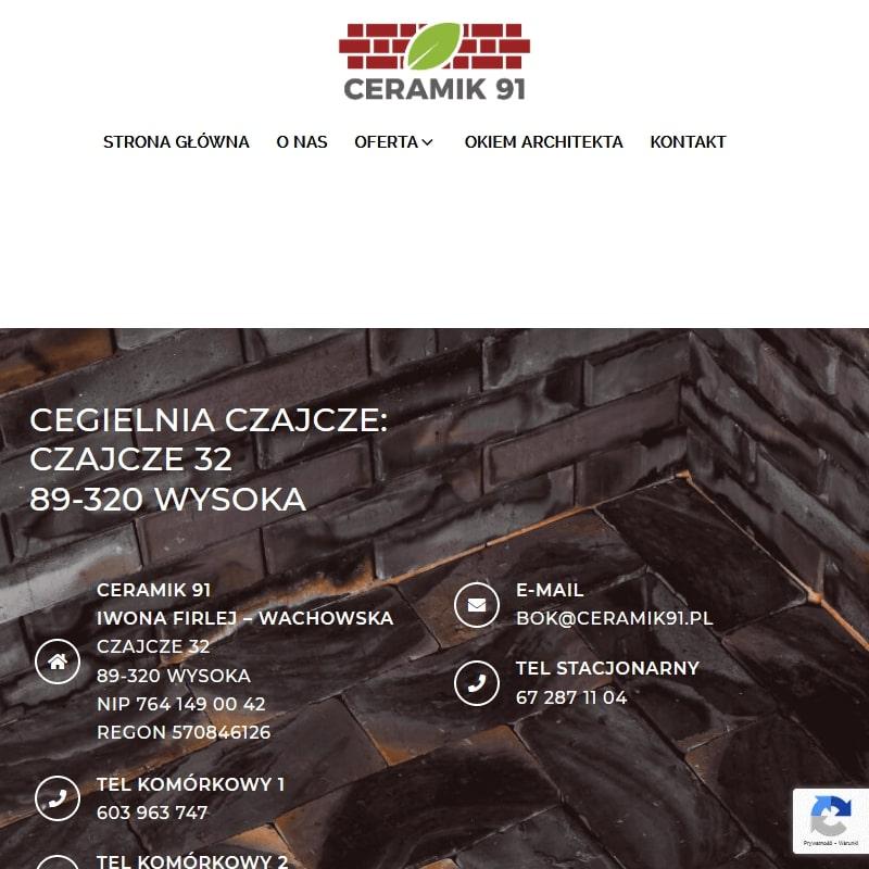 Cegła cięta na ścianę - Bydgoszcz