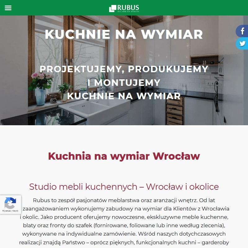 Wrocław - nowoczesne meble kuchenne