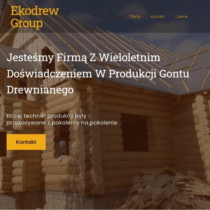 Projekty domów drewnianych całorocznych - Kraków