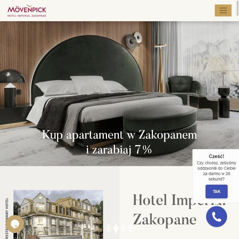 Zakopane - hotel do sprzedania