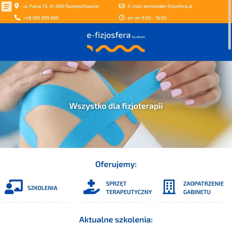Fizjoterapia webinar