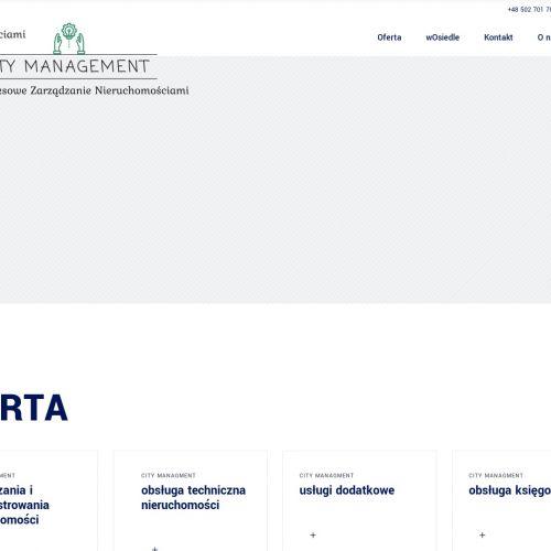Warszawa - firma zarządzająca nieruchomościami