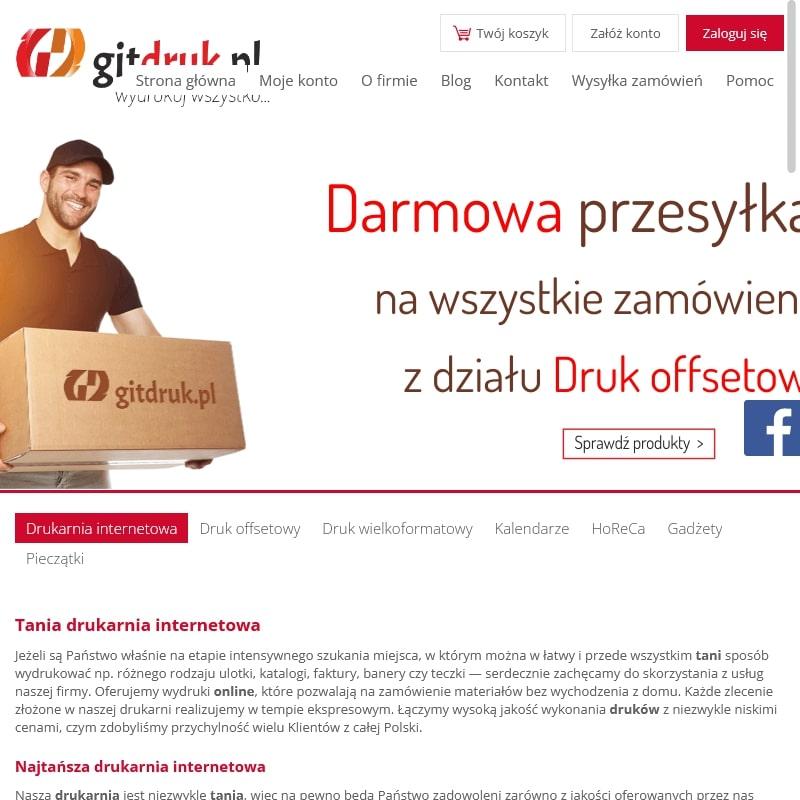 Wizytówki firmowe online
