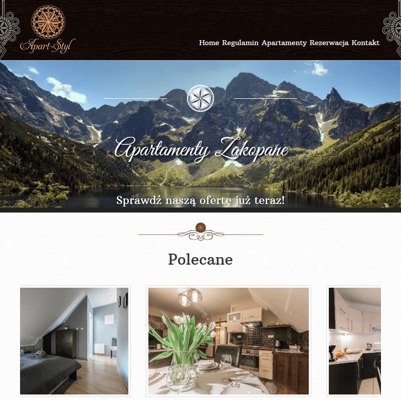 Apartamenty w górach - Zakopane