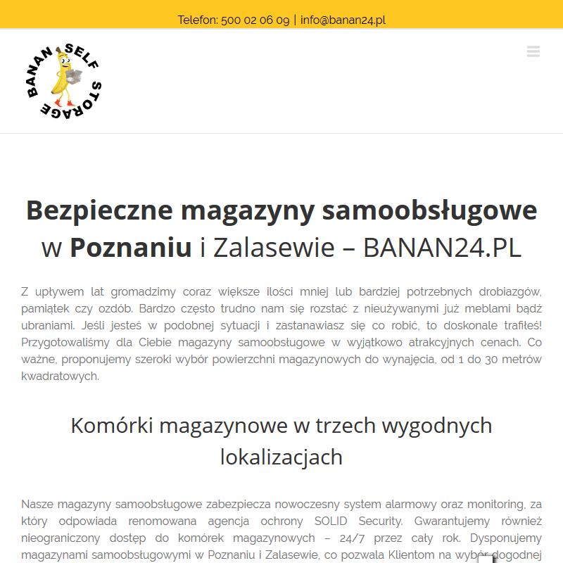 Skrytka depozytowa - Poznań