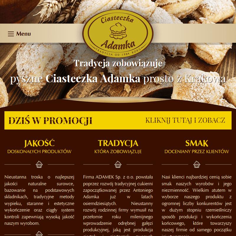 Ciastka producent w Krakowie