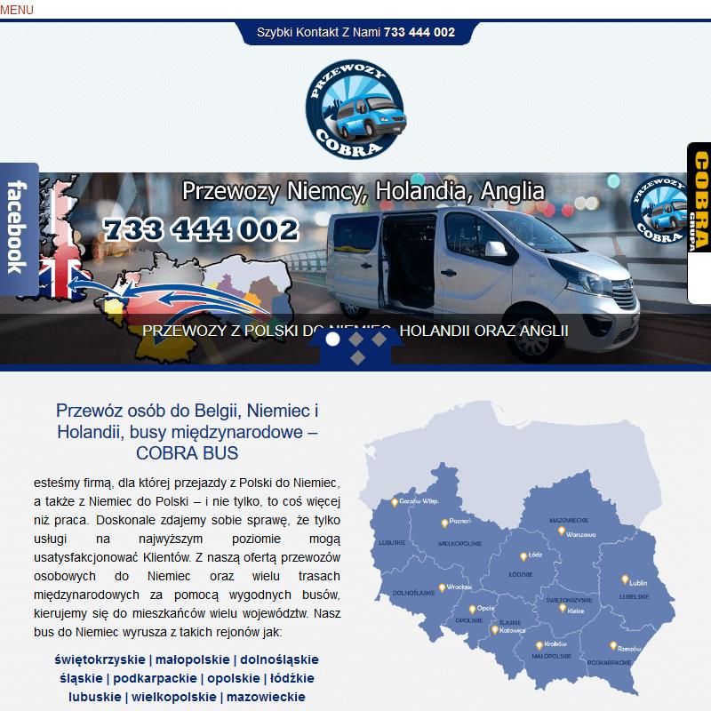 Przewóz osób z niemiec do polski - Lublin