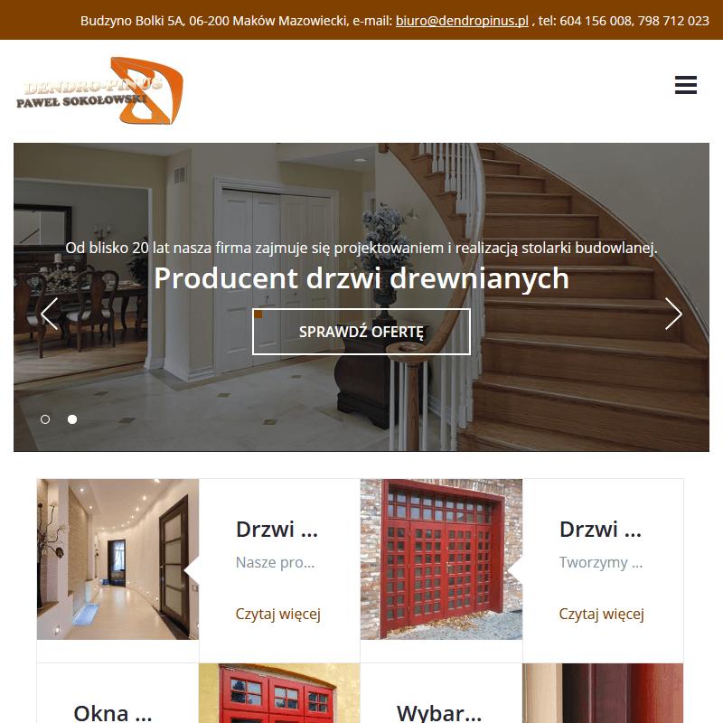 Siedlce - producent drzwi drewnianych
