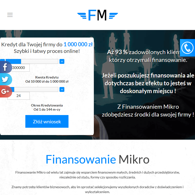 Szybki kredyt - Warszawa